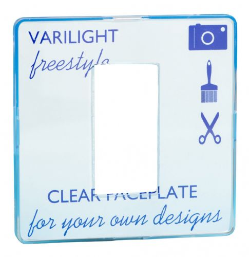 Varilight XIFG1C Freestyle Clear DataGrid Plate (1 DataGrid Space)